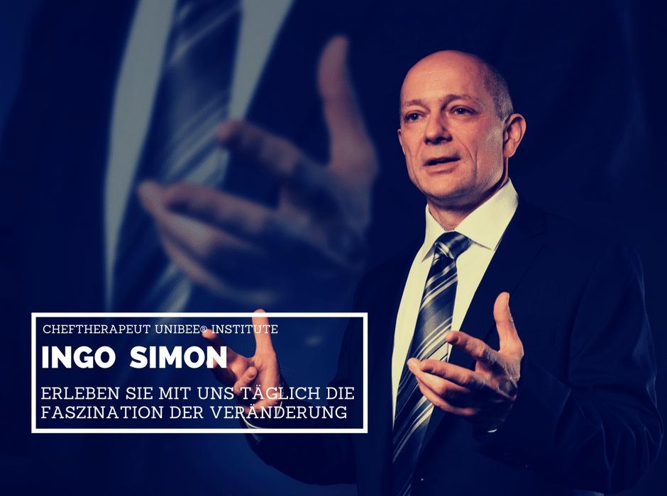 Cheftherapeut der unibee Institute Ingo Simon