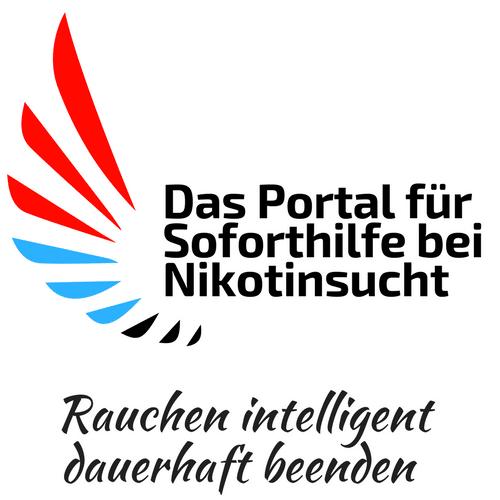 Logo: Das Portal für Soforthilfe bei Nikotinsucht