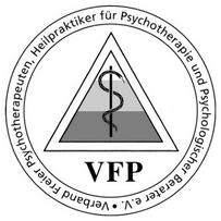 Siegel: Verband Freier Psychotherapeuten, Heilpraktiker für Psychotherapie und Psychologischer Berater e.V. (VFP)